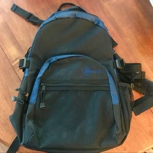 Ibanez black guitar backpack for sale